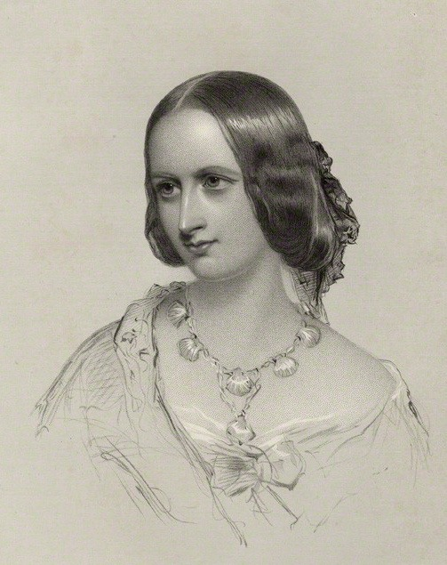 1857 Elizabeth Georgina Campbell, née Sutherland-Leveson-Gower, by Francis Holl, after James Rannie Swinton (National Portrait Gallery - London, UK) Wm