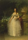 1857 Grand Duchess Alexandra Iosifovna by Friedrich August von Kaulbach (Hermitage)