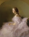 1857 or 1858 Lidia Schbelsky, Baroness Stael-Holstein by Franz Xaver Winterhalter (Virginia Museum of Fine Arts - Richmond, Virginia USA)