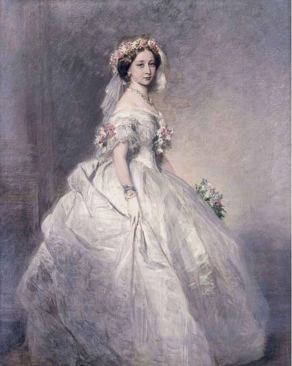 1858 Princess Alice as bridesmaid