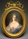 1860-1865 Empress Eugénie by Pierre Paul Emmanuel de Pommayrac (Walters Art Museum, Baltimore Maryland)