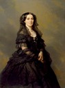 1860 Elena Pavlovna Bibikova, Princess Kochubey by Franz Xaver Winterhalter (Walters Art Gallery - Baltimore, Maryland USA)