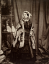 1860 Queen Victoria by John Jabez Edwin Mayall (The Royal Collection)
