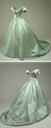 1860s Green ball gown belonging to Queen Louise of Denmark, (Nationalmuseet - København, Denmark) From pinterest.com/musicalmaddness/1860s-historical-clothing/.png