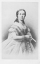 1860s Queen Maria Henriette Anne of Austria carte de visite by Neurdein of Paris