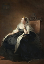 1862 Empress Eugenie in dark dress by Franz Xaver Wonterhalter