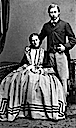 1862 engagement photo of Princess Alexandra by Ghemar Freres