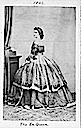 1862 Maria Sofia ex-Queen of the Two Sicilies