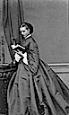 1862 November Princess Alexandra of Denmark at Windsor Castle