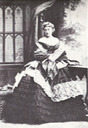 1863 Duchess of Manchester by Camille Silvy