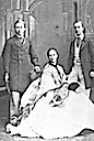 1863 Alexandra, Albert Edward, and Vilhelm