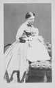 1864 (estimated) Clotilde Bonaparte holding a childby Disdéri & Cie.
