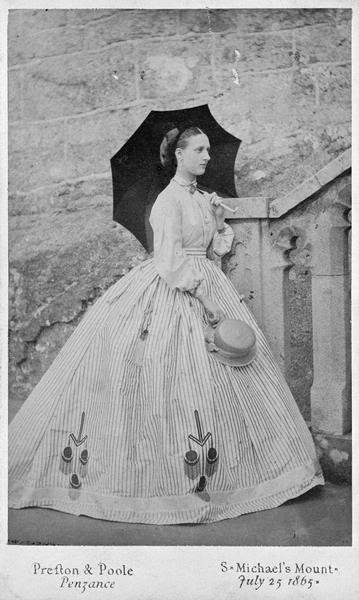 1865 Princess of Wales Alexandra by Preston & Poole From byronsmuse.wordpress.com