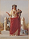 1866 Empress Eugenie as Ceres by Jules de Vigneil (Château de Compiègne)