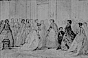 1866 Presentation of the ladies of Chalons to the Empress by Francois Claudius Compte Calix (Chateau de Compiegne, Compiegne)