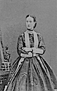 1866 Princess Alexandra of Wales- Disdéri session Nr. 5/8 by André A. E. Disdéri