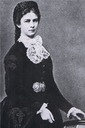 1867 Elisabeth wearing dark dress