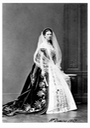 1867 Princess Ekaterina Petrovna Kleinmichel, Maid of Honor to the Empress Maria Alexandrovna in full court dress From imperial-russia.tumblr.com-post-166184608481-princess-ekaterina-petrovna-kleinmichel-maid-of despot detint X one third