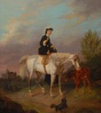 1867 Sisi equestrian by Stefanie Kirk (location unknown to gogm)