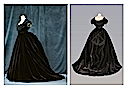 1867 Dress worn by Contessa Virginia di Castiglione