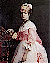 1868 Margherita color portrait