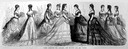 1869 Empress Eugenie and Ladies