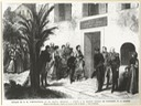 1869 Le Monde Illustre - The trip of the Empress and prince Imperial visit to Napoleon I's birth place at Ajaccio on 1 September