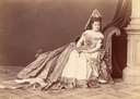 1869 Princess Leontine Fürstenberg Wien in charity play