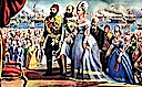 1869 November Empress Eugenie at the opening of the Suez Canal