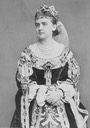1870s (early) Princess Maria Anna of Prussia, neé Pss of Anhalt Dessau, in costume From carolathhabsburg.tumblr.com/post/119368622412/princess-maria-anna-of-prussia-neé-pss-of-anhalt detint