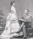 1872 Archduchess Gisela of Austria and her husband, Prince Leopold of Bavaria