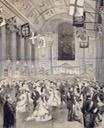 1874 Mansion House ball with Duke and Duchess of Edinburgh quadrille
