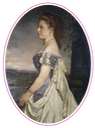 1875 Princess Beatrice of the United Kingdom by Heinrich von Angeli (Royal Collection) From nikolaevnas.tumblr.com