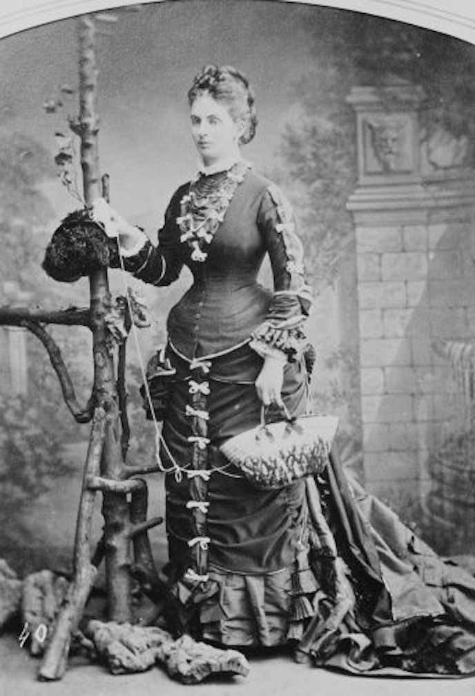 1878 Countess of Dalkeith by ? (Royal Collection) From www.pinterest.com/afagim/style-~-royalty-aristocracy X 2