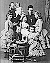 1878 Princess Alice and her family