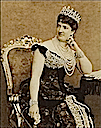 ca. 1878 Margherita in Savoy knot tiara, probably by Luigi Montabone