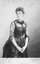 1880s Lady Randolph Churchill, Jennie Churchill, née Jerome From pinterest.com:Roderick875:the-400-of-new-york detint
