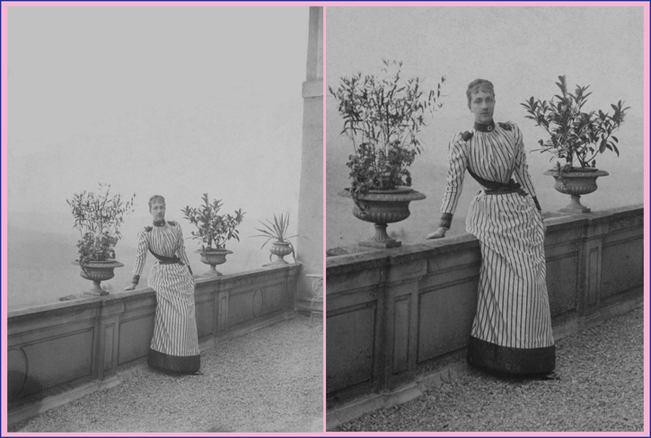1880s (late) Crown Princess Victoria of Sweden From tumblr.com-search-victoria+of+baden deflaw background detint