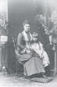 1881 Maria Alexandrovna and Missy (Marie of Romania) detint