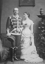 1881 Marie and Duke Paul Friedrich