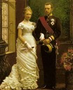1881 Wedding of Crown Princess/Archduchess Stephanie