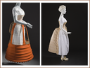 1882 and 1885 bustle corsets