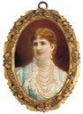 1882 Margherita di Savoia, Queen of Italy by Domenico Ventura (auctioned)