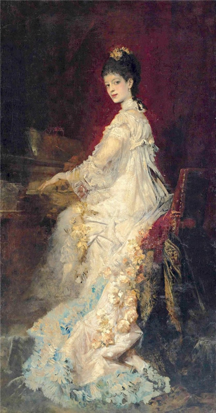 1882 Maria, Countess von Donhoff, née von Lepel, by Hans Makart (auctioned by Christie's) From liveinternet.ru:users:pkfnf:post323267884: shadows inc. exp trimmed
