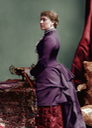 1882 Princess Beatrice of Battenberg colorized by Alix of Hesse From empress-alexandra.tumblr.com-post-109212621605-princess-beatrice-of-battenberg-1882