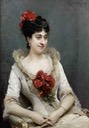1883 Clothilde Briat, comtesse Pillet-Will by Raimundo de Madrazo y Garreta (auctioned by Tajan) From pinterest search