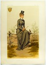 1884 Empress Sisi equestrienne image from Vanity Fair