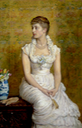 1884 Lady Campbell, née Nina Lehmann by Sir John Everett Millais (auctioned by Christie's)