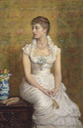 1884 Lady Campbell, née Nina Lehmann by Sir John Everett Millais (auctioned by Christie's) From the Christie's Web site