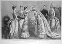 1888 Empress crowning Princess Irene at Princess Irene's wedding